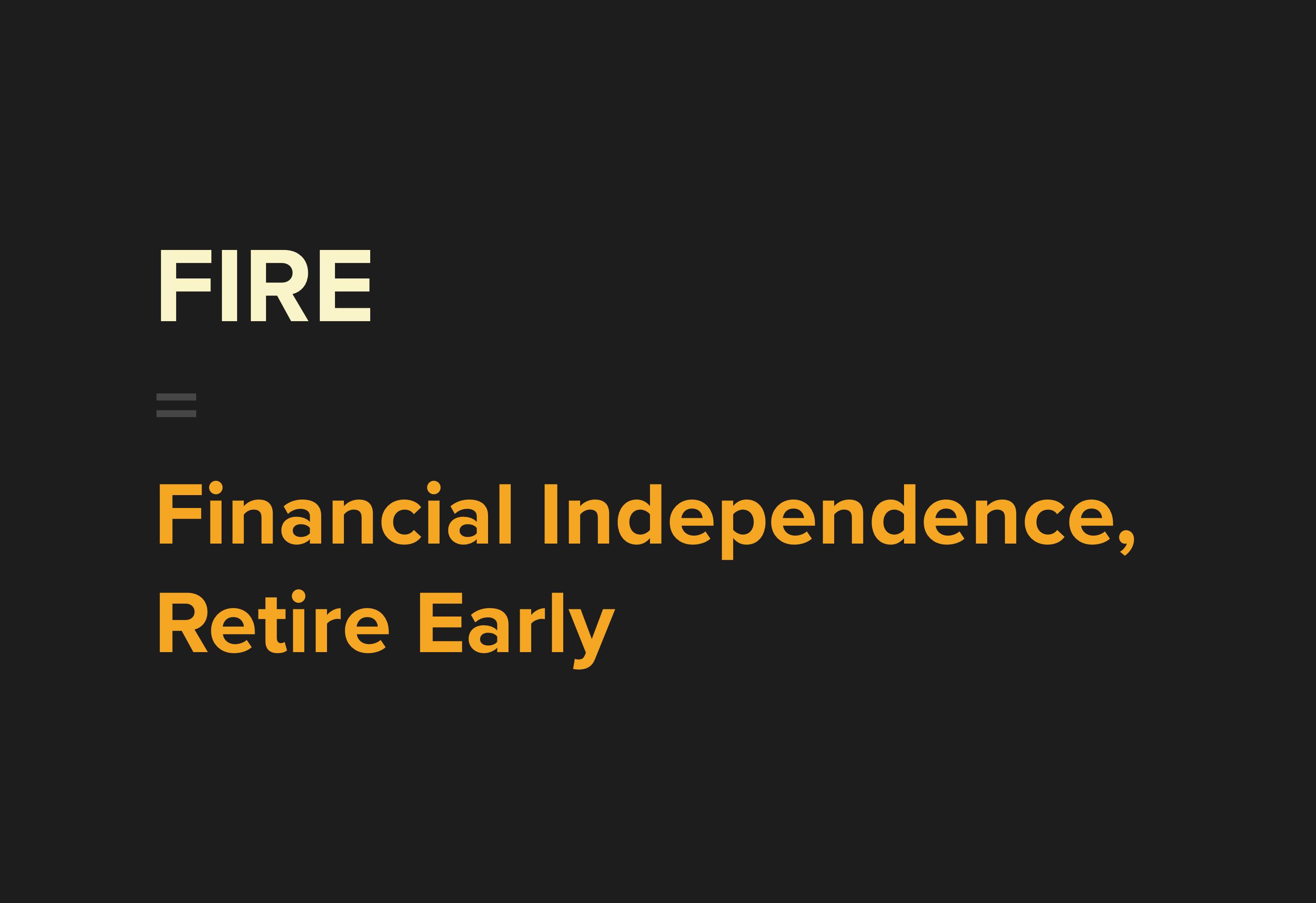 Vad innebär FIRE (ekonomisk frihet)?